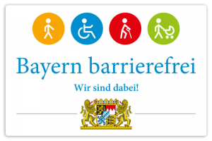 Bayern barrierefrei signet – winning it with our inductive hearing loop!