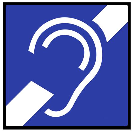 Wir haben eine induktive Höranlage für hörbeeinträchtigte Kunden