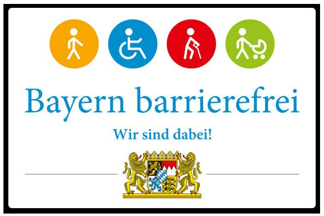 Barrierefreies Bayern – wir sind dabei!
